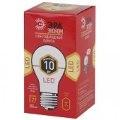 Лампа светодиодная ЭРА LED smd A60-10w-827-E27 ECO