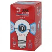 Лампа светодиодная ЭРА LED smd A60-10w-840-E27 ECO
