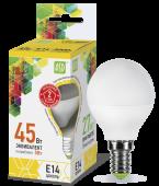 LED P-45 5 Вт (220~240В, E14, 400Лм, 3000К)