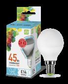 LED P-45 5 Вт (220~240В, E14, 400Лм, 4000К)