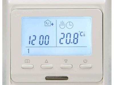 Терморегулятор RH 51.716 электронный программируемый  с датчиком пола и воздуха, 16А, цвет белый