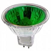 Лампочка Elektrostandart MR16/C 220B 35Вт зелёная