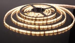 Светодиодная лента 60 LED 4.8Вт IP65 белый тёплый свет