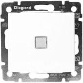 Выключатель с подсветкой 1 кл. VALENA белый Legrand (774410)
