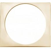 Лицевая панель (накладка) для розеток TV+FM, аудио и.т.п слоновая кость Valena (774380)