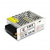 Трансфарматор S-36-12  110/230V-12V DC 36Вт/IP34