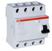 Автомат диф.тока 4-полюс. FH204 AC-25/0.03 ABB