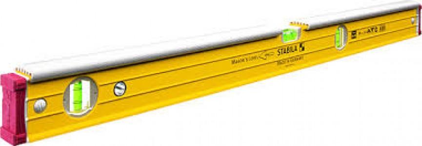 16403 STABILA Уровень тип 96-2К, .80см /2верт,1гориз,точн.05мм/м/для каменщика/плиточника