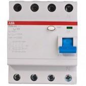 Автомат диф.тока 4-полюс. F204 AC-25/0.03 ABB