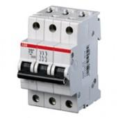 Автоматический выключатель ABB S203 3P/ 50A -3М (тип С) 6kA [2CDS253001R0504]