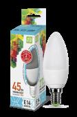 LED C-37 5 Вт (220~240В, E14, 400Лм, 4000К)