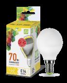 Лампа ASD LED Р-45 7,5Вт 220В Е14 3000К 675Лм