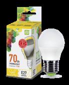 Лампа ASD LED Р-45 7,5Вт 220В Е27 3000К 675Лм