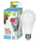 Лампа ASD LED A-60--econom 20Вт 160-260В Е27 4000К 1600Лм