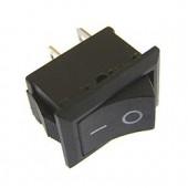 21528/Выключатель 101 15*10мм /13*8,5/ 250В 3А черный