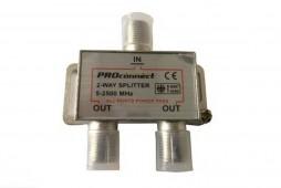 Делитель на 2 ТВ/5-2500 мГц