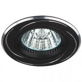 Светильник ЭРА KL34 AL/BK алюминиевый MR16,12V, 50W черный/хром