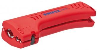Универсальный инструмент для снятия оболочки с кабеля домовой и промышленной сети KNIPEX 16 90 130 SB KN-1690130SB