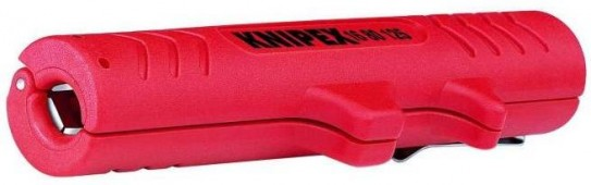 Универсальный инструмент для удаления оболочки KNIPEX 16 80 125 SB KN-1680125SB/для снятия изоляции с круглых кабелей