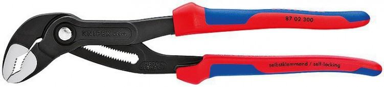 Высокотехнологичные сантехнические клещи Cobra, 300 мм, KNIPEX 87 02 300 KN-8702300