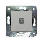 Выключатель Cariva с подсв. бел. 1кл 773610