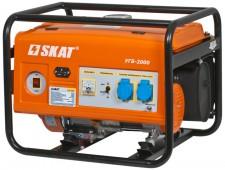 Установка генераторная бензиновая SKAT УГБ-2000