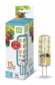 LED JC standart 1.5 Вт 12B G4 4000K 120Лм