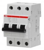 Автоматический выключатель ABB SH203L C25 3-полюсный (2CDS243001R0254)