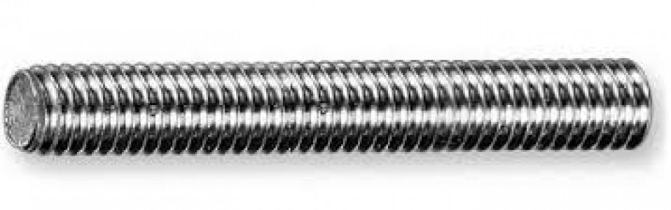 Шпилька резьбовая оцинкованная  М8*2м