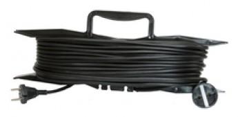 Удлинитель силовой УХз16-101 TDM (на рамке, штепс. гнездо/20м ПВС 3х1,5)