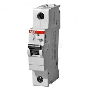 Автоматический выключатель 1-полюсный SH201L C16 ABB