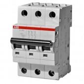 Автоматический выключатель 3-полюсный SH203L C16 ABB