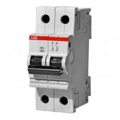 Автоматический выключатель 2-полюсный SH202L C16 ABB