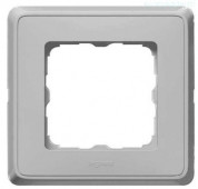 Рамка Cariva 1 пост алюминий