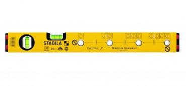 16135  STABILA  Уровень тип 70 Electric.43см /1верт,1гориз,точн.05мм/м/для электрика
