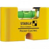 17775  STABILA  Уровень тип Pocket Electric. /1гориз,точн.01мм/м/