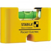 17775  STABILA  Уровень тип Pocket Electric. /1гориз,точн.01мм/м/